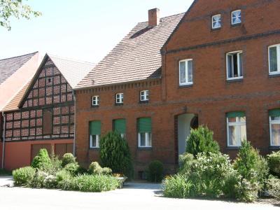 Vierseithof im Ortsteil Illmersdorf