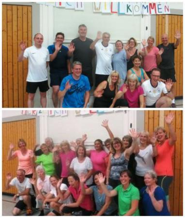 Teilnehmer Funktions-Gymnastik und EnergyFitness