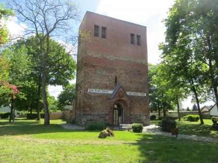 Kirchenruine  Podelzig  Foto: Info Punkt Lebus