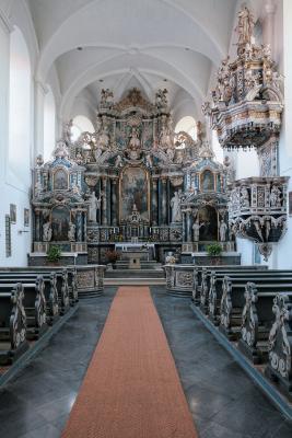 Die Klosterkirche Egeln-Marienstuhl gehört zu den schönsten Barockkirchen Sachsen-Anhalts