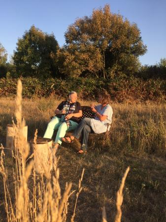 Lauer Sommerabend im Garten Eden, Foto: Birgit Bertz
