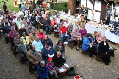 20. Erntedankfest im Freilichtmuseum Höllberghof Langengrassau am 3. Oktober 2015