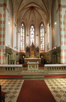 Die katholische Kirche innen