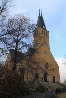 Die Kirche in Jahnsbach
