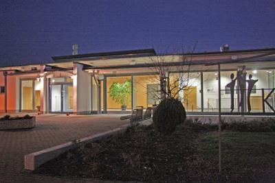 Kulturhaus bei Nacht