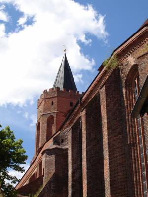 St. Marien Kirche am Kirchplatz in Beeskow