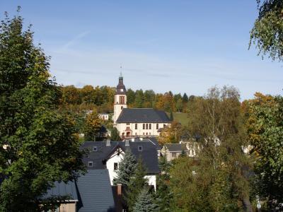 Die Kirche in Cranzahl.