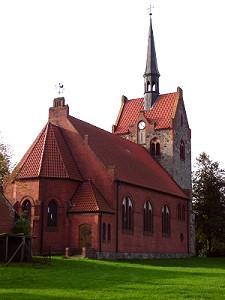 Kirche in Blandikow aus der ersten Hälfte des 19.Jhrdt