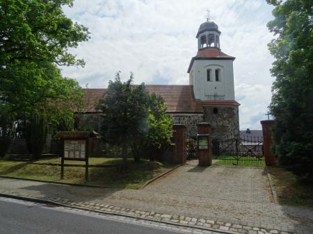 Kirche Petershagen Foto: Info Punkt Lebus