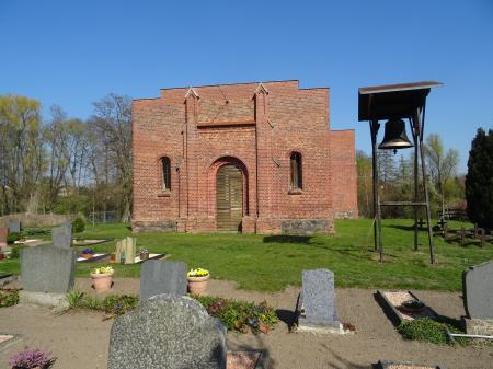 Kirchenruine Schönfließ Foto: Info Punkt Lebus