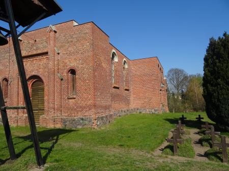 Deutsche Kriegsgräberstätte Schönfließ Foto: Info Punkt Lebus