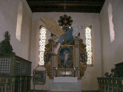 Innenansicht Kirche Schwaneberg