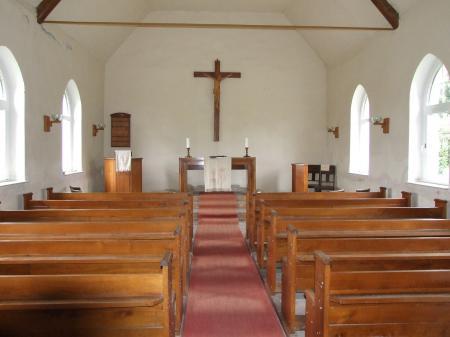 Wildgrube - Kirche innen