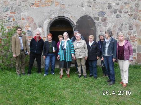 Mitglieder des Kirchenvereins Beenz