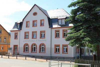 Das Gemeindehaus in Königswalde