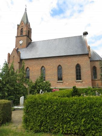 Kirche Treplin Foto:  Info Punkt Lebus
