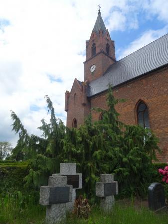Deutsche Kriegsgräberstätte in Treplin  Foto: Info Punkt Lebus