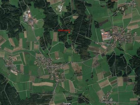 Lageplan Waldkindergarten Tuntenhausen
