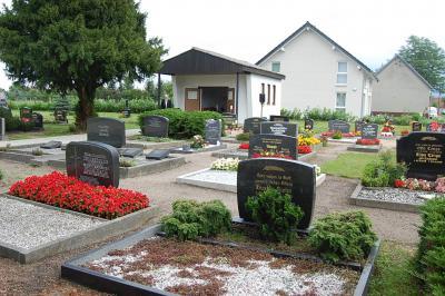 Friedhof mit Trauerhalle in Libbesdorf