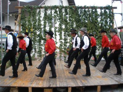 Auftritt auf dem Hopfenzupfmarkt 2010