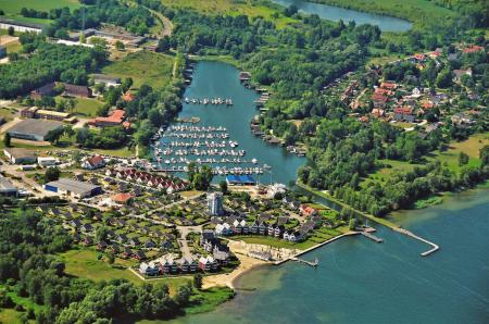 Luftbild Claassee Hafendorf
