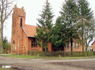 Kirche und Schulhaus Seetz