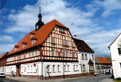 Rathaus in Kelbra, Sitz der Verwaltungsgemeinschaft
