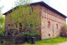 Wirtschaftsgebäude aus Feldsteinen in Hessenhagen