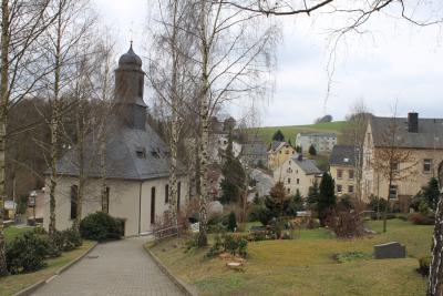 Die Kirche in Meinersdorf