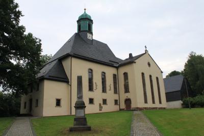 Die Kirche in Neukirchen