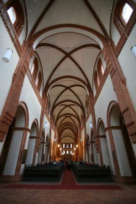 Zisterzienserkloster Innenansicht