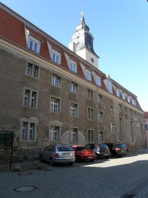 Südseite der Hospitalkirche