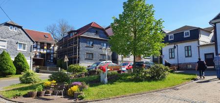Ortsmitte Friedersdorf