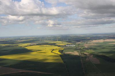 Luftaufnahme Petershagen