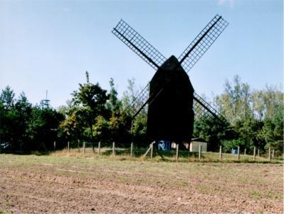 Bockwindmühle in Parchen