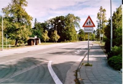 Ortsdurchfahrt Parchen - B1