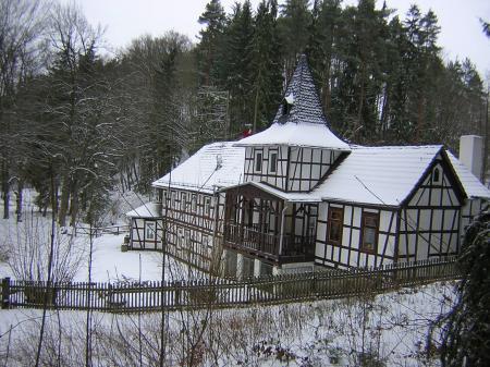 Weihertalmühle im Winter