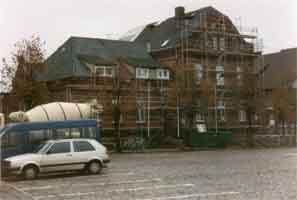 Das Rathaus wurde 1995/96 saniert , Quelle: Amt