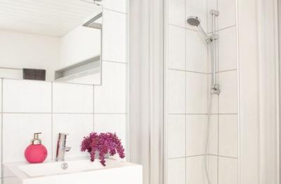 Alt-Daber Ferienwohnung: Dusche/WC