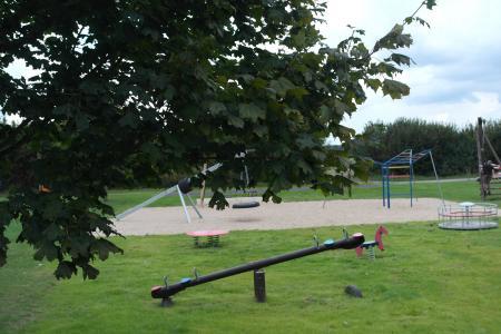 Spielgeräte im Generationenpark
