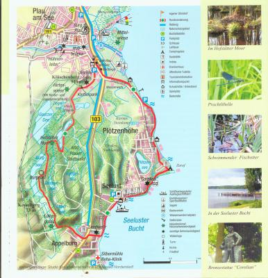 Karte Wegverlauf