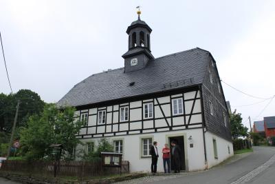 Das Gemeindehaus in Streckewalde