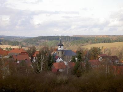 Bergmannsdorf Straßberg