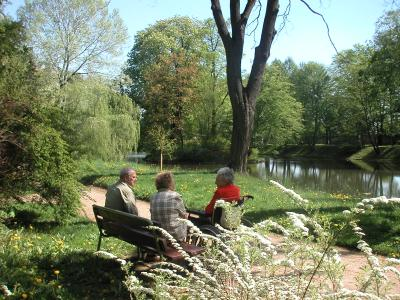 Schlossteich im Schlossgarten heute