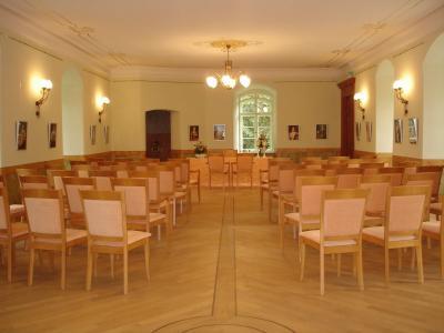 ... Festsaal des Schlosses Meyenburg