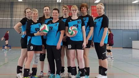 Die Volleyballer der TSG Warin