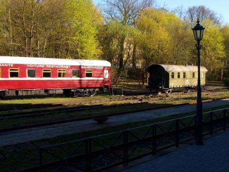 © Rehagen Bahnhof - Schlafwagenhotel