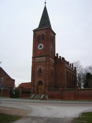Kirche im März 2008