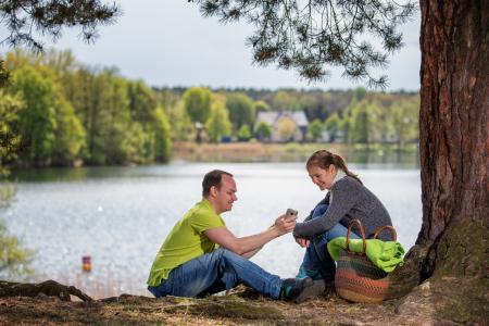 Picknick Werlsee Nordstrand © Seenland Oder-Spree, Foto Florian Läufer