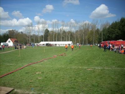 Amtswehrtreffen 2008 - Austragungsort Sportplatz Stepenitz